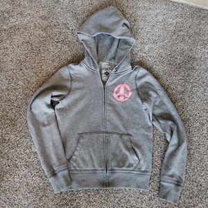 Victoria's Secret Hope Pink Small Hoodie Jacket